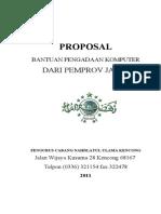 Proposal Pengadaan Komputer
