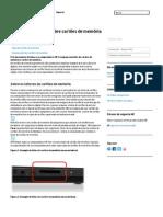 Informações gerais sobre cartões de memória _ Suporte HP®
