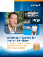 Waterpik Treatment Planning for Implant Dentistry ContinuingEducation