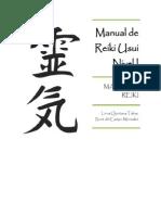 Manual Reiki Nivel I Segundo Taller
