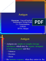 Antigen and its properties