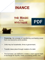 Finance - The Magic and Mystique -1