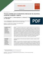 Avances en Cirugia Endovascular Aneurismatica