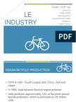 Field Research - Bicycle Industry