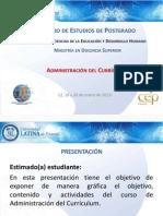 Presentacion Administracion Del Curriculo