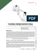 Vigotsky Enfoque Sociocultural