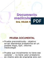 DOCUMENTOS MEDICOLEGALES