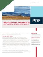 Ley Tarifaria Provincia Buenos Aires 2014