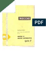 Manual Necchi II