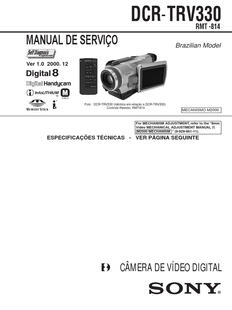 Electronics Accessories & Supplies Sony Camcorder 8mm Video ...
