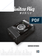 Guitar Rig Mobile IO Manual English