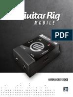 Guitar Rig Mobile IO Manual English