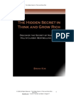 The Hidden Secret in Think and Grow Rich