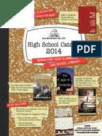 Random House 2014 High School Catalog