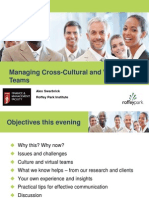 Managing Cross Cultural and Virtual Teams Slides