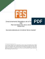 053_direccionamiento Estrategico Fundacion Fes 2012-2015
