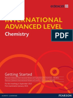 IAL Chemistry Getting Started Issue 1