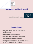 Reflection_ Making It Useful_PP