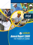 LUCELEC Annual Report 2009