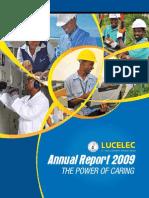 LUCELEC Annual Report 2009
