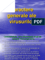 Curs 12 AMG - Virusologie. Caractere Generale