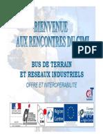 Bus de Terrain Et Reseaux Indusriels