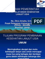 Program Depkes Lansia