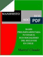 Marcel Claude - Manifiesto Eco-Socialista