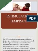 BASES CIENTIFICAS DE LA ESTIMULACIÓN TEMPRANA