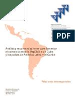 T023600005452-0-Di 12 - Analisis y Recomendaciones Para Fomentar El Comercio Entre CUBA y ALC Rev 3 SEP18