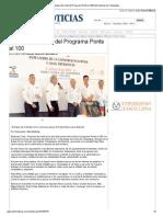 05-12-2013 'Reynosa fue sede del Programa Ponte al 100'.