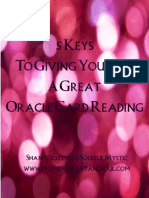 5 keys to giving yourself a great oracle reading