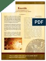 Advacad Knowble Brochure