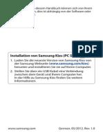 Samsung Galaxy S3 Benutzerhandbuch