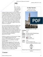 Al-Azhar University - Wikipedia, The Free Encyclopedia