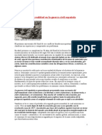 Mito y realidad en la guerra civil española
