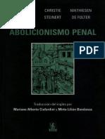 Cohen, Hulsman, Christie y Otros - Abolicionismo Penal