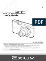 Casio Ex-z200 User Manual