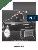 Manual Utilizare Tcb r2000