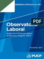 I Análisis de la demanda laboral por egresados PUCP
