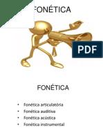 Trabalho de Fonética e Fonologia