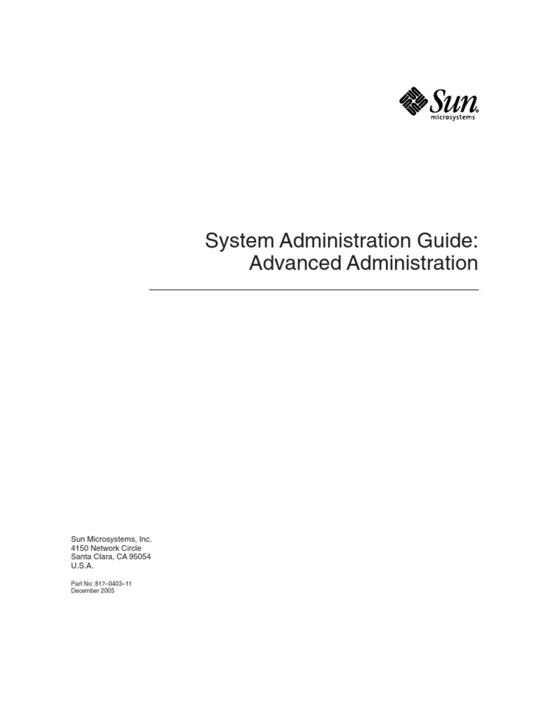 Sol 10 System Administration Guide Advanced Administration | Command Line  Interface | Ip Address