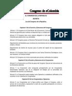 Ley y Reglamento Del Parlamento de La Republica