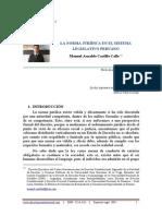 La Norma Juridica en El Sistema Legislativo Peruano