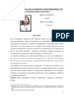 Articulo Cientifico - La Entrevista Gladys Carrion Espilco