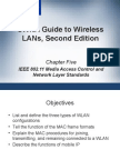 CWNA Guide to Wireless LAN's Second Edition - Chapter 5