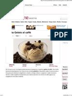 Ricetta Gelato al caffè _ Pour Femme
