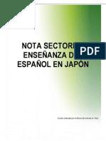 Japón NS Sector Enseñanza Español 2011