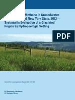 USGS NY Methane Drinking Water Study