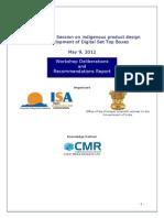 CAREL Workshop on STB Report Final 110612